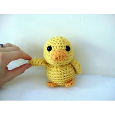 Amigurumi Mal the Tiny Duck