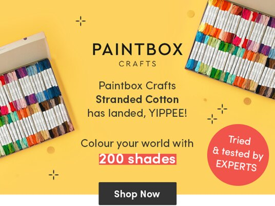 Explore the colourful world of Paintbox Crafts Stranded Cotton!