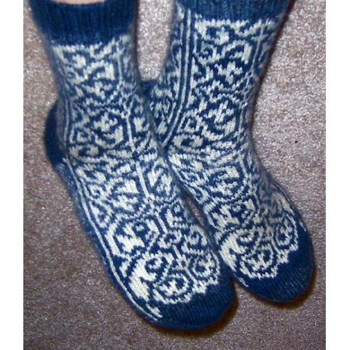 Secret Garden Socks