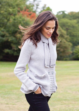 Catrin Jacket in MillaMia Merino Wool