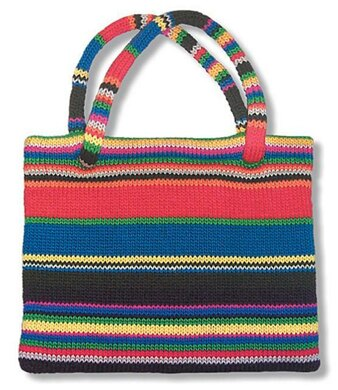 Striped Tote to Knit