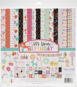 "Echo Park Paper Echo Park Collection Kit 12""X12"" - It's Your Birthday Girl"