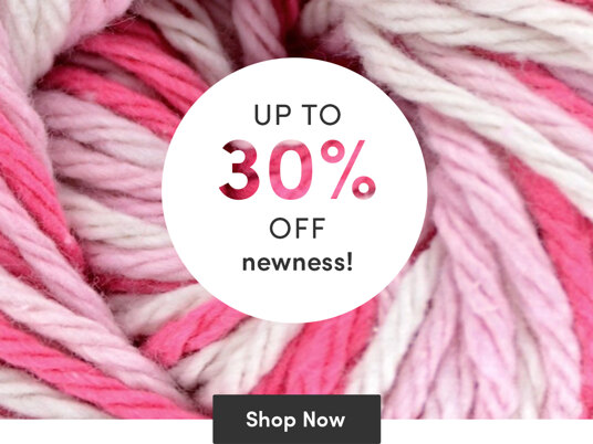 Up to 30 percent off newness