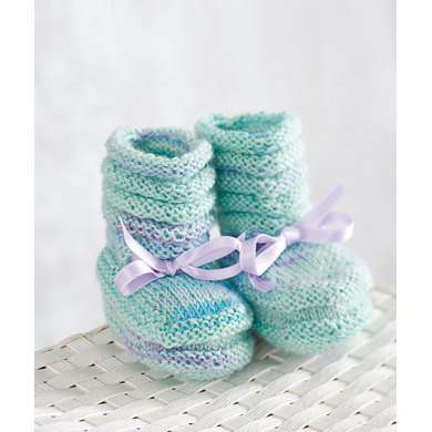 Baby Booties in Regia My First Regia 4 Ply - R0123