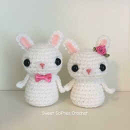 Bunny Kokeshi Couple Doll