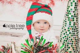 Striped Stocking Cap - Santa or Elf Hat
