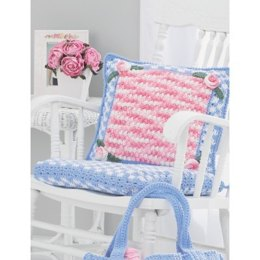 Chair Cushion in Lily Sugar 'n Cream Solids - Downloadable PDF
