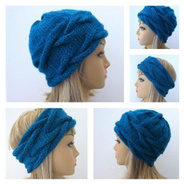 Camille - French Braid Hat and Headband