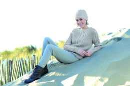 Ladies Sweater and Hat in Schachenmayr Extra Soft Merino Alpaca - 2001 - Downloadable PDF
