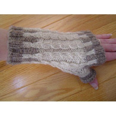 Winter Birch Mitts