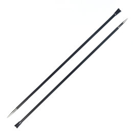 "Knitter's Pride Karbonz 10"" Single Pointed Needle (1 Pair)"