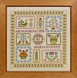 Historical Sampler Company Acorn Sampler Cross Stitch Kit - 100231