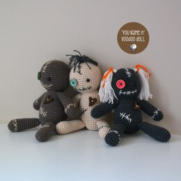 'You Name It' Halloween Voodoo Doll