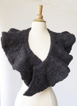 High Wire Scarf in Lion Brand Wool-Ease Thick & Quick - 70802AD