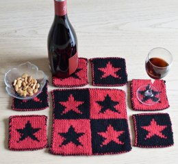 Star Coasters and Table Mat