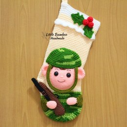 Soldier Christmas Stocking