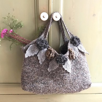 Crochet Flower Bag Crochet Pattern By Marie Wallin