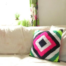 Neon Granny Cushion