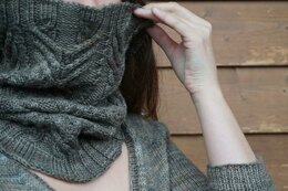 Walnut Bark Cowl