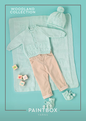 Woodland Friends in Paintbox Yarns Baby DK - Downloadable PDF