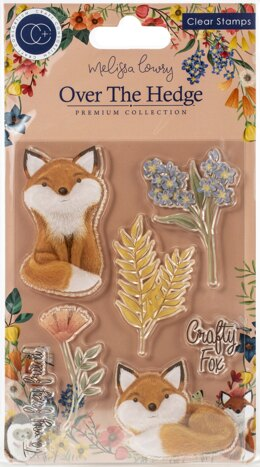 Craft Consortium A5 Clear Stamps - Henry The Fox