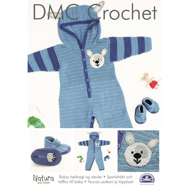 Baby's Onesie & Bootees in DMC Natura Just Cotton - 15208L/2