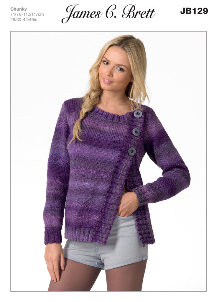 Chunky Cardigan Knitting Patterns | LoveKnitting