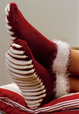 Socks with massaging Soles in Regia 6 Ply and Schachenmayr Brazilia - 5835 - Downloadable PDF