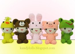 Little Babies, Amigurumi crochet pattern