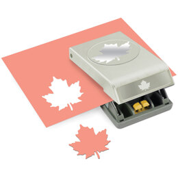 EK Success Large Punch - Maple Leaf, 2.25""