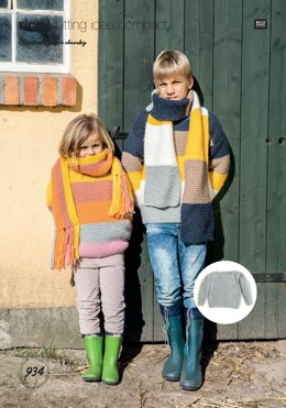 Sweaters and Scarfs in Rico Essentials Super Chunky - 934 - Downloadable PDF