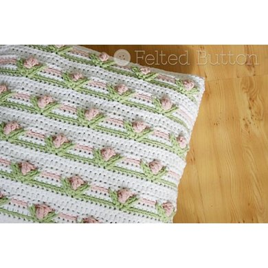 Little Dutch Girl Pillow and Blanket