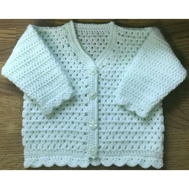 Baby's/Child's V-Neck Cardigan - 1008