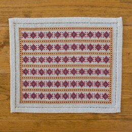 Avlea Folk Embroidery Bitkit Grecian Stripe - Downloadable PDF