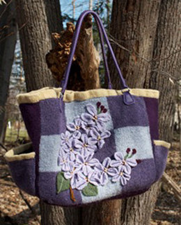 Lilac Festival Bag in Cascade 220