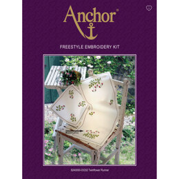 Anchor Twinflower Runner Freestyle Embroidery Kit