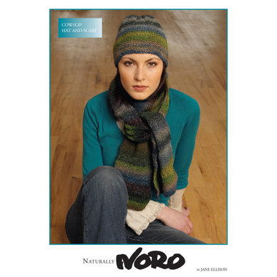 Hat and Scarf in Noro Silk Garden