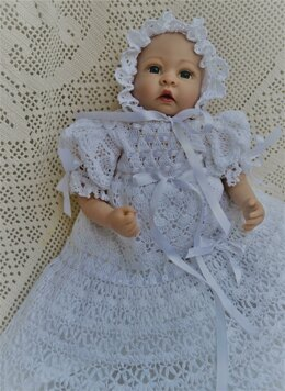 Baby Andrea Christening outfit