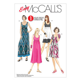 McCall's Misses'/Women's Dresses In 4 Lengths M5893 - Sewing Pattern