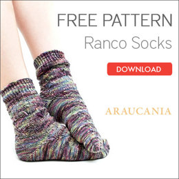 Socks in Araucania Ranco
