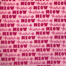 Craft Cotton Company Oh Happy Days - Meow