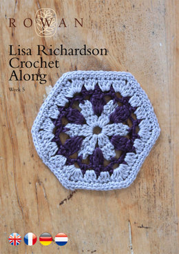 Lisa Richardson Crochet Along Week 5 in Rowan Summerlite 4 Ply