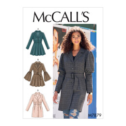 McCall's Misses' Coats M7879 - Sewing Pattern