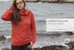 Larkin Pullover by Bristol Ivy - Sweater Knitting Pattern For Women in The Yarn Collective