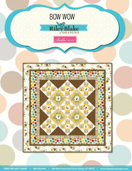 Riley Blake Bow Wow - Downloadable PDF