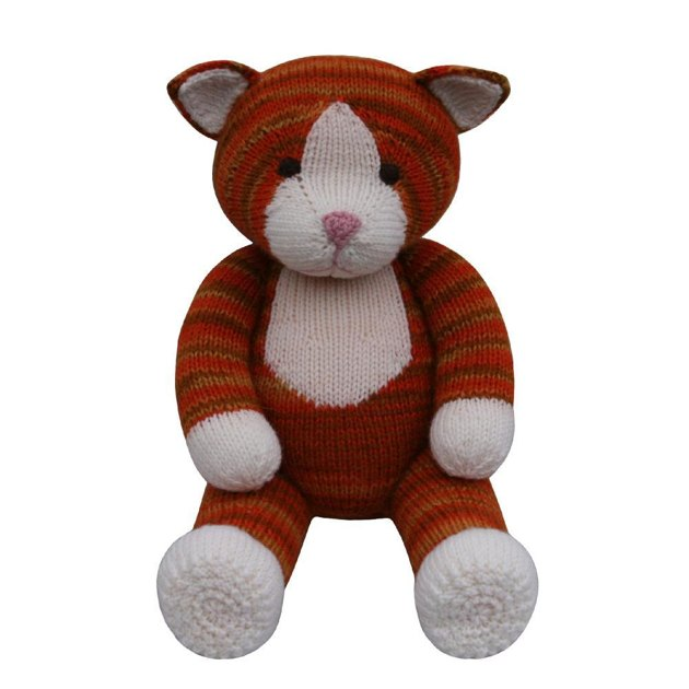 Cat Design Knitting Pattern : Cat (Knit a Teddy) Knitting pattern by Knitables