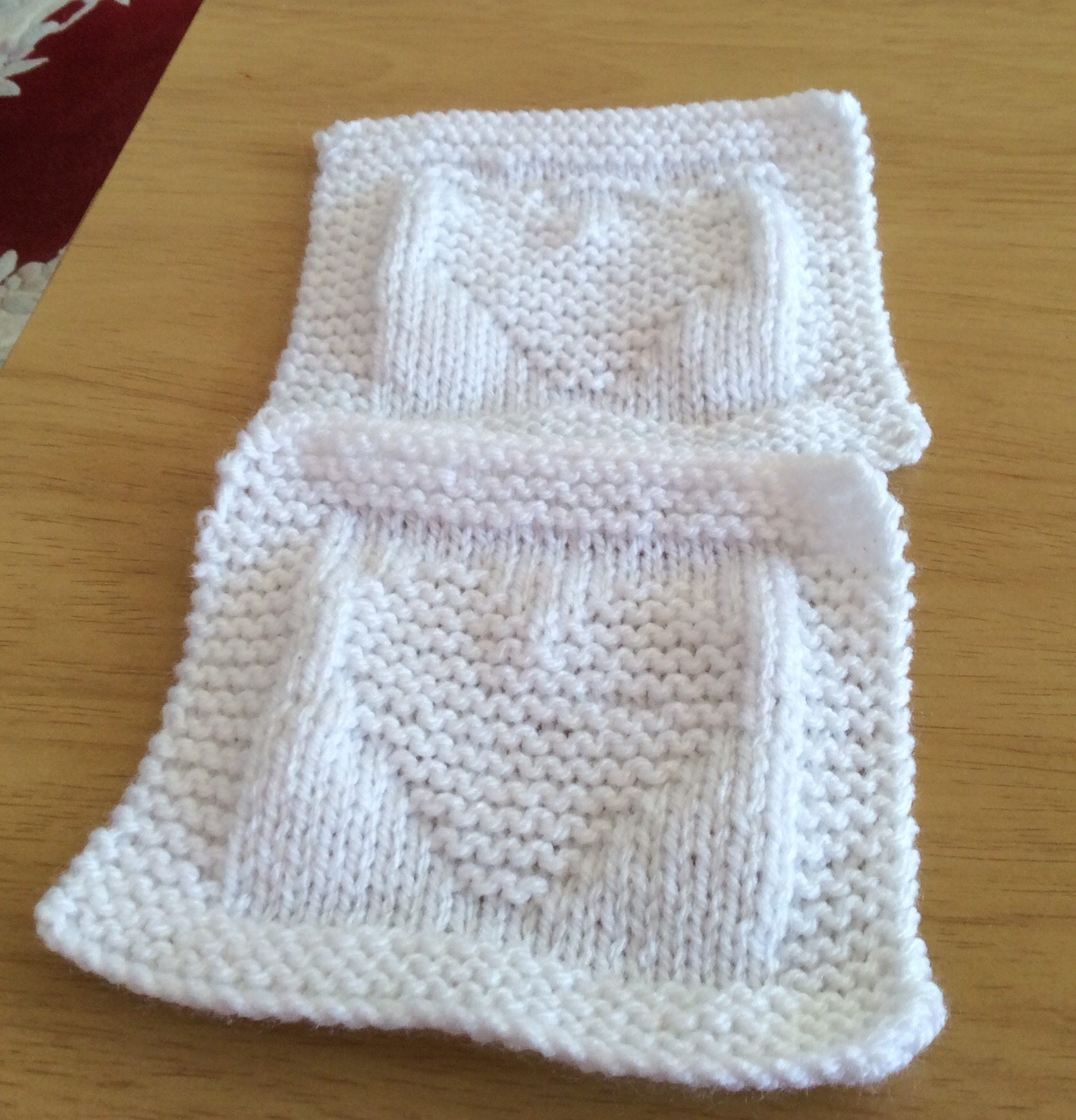 Bonding Squares For Neonatal And New Borns Knitting