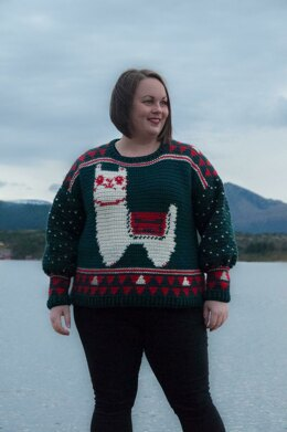 Alpaca My Holiday Sweater