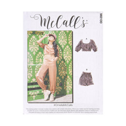 McCall's Misses' Pants and Top M8100 - Sewing Pattern