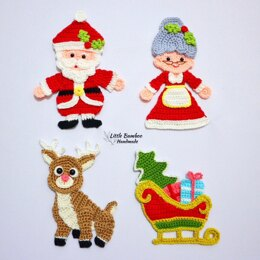 Magical Christmas Applique Set